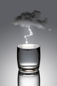 Storm in Water Glass