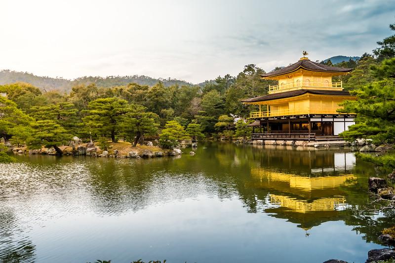 Kinkaku-ji - Temple of the Golden Pavilion
