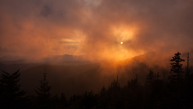 Clingman's Dome sunset