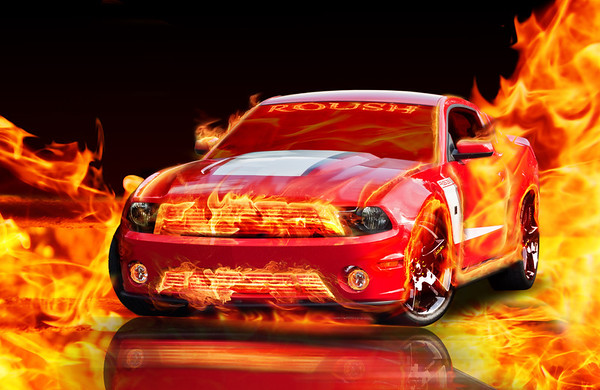 Hott! Photo by DeeDee Niederhouse-Mandrell / Visual Journeys Studios Digital Composite by Lee Mandrell / Leman's Studios - www.lemansstudios.com