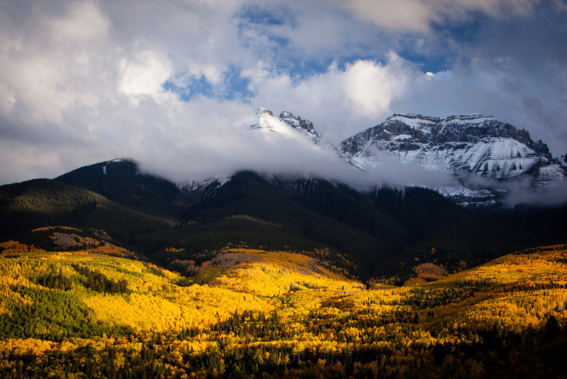 Fall color in Ridgway, CO