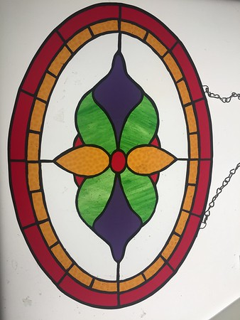 Stained Glass Sun Catcher - Made by Deedee Niederhouse-Mandrell