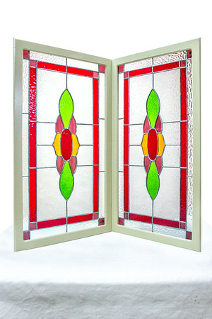 Stained Glass Kitchen Cabinet Doors - Made by Deedee Niederhouse-Mandrell