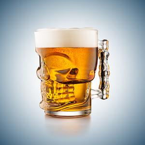 Skull Mug Beer