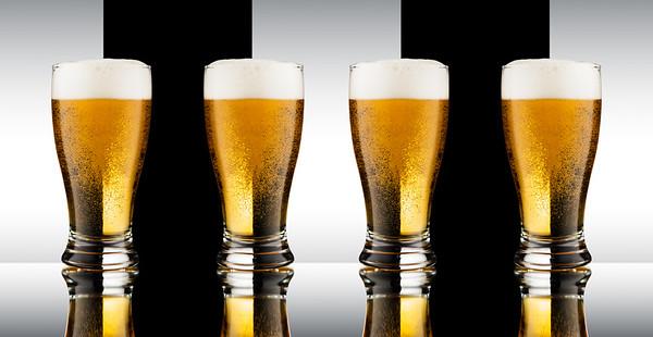 Beer Refraction Glasses
