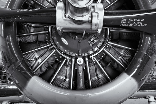 Plane Engine Detail