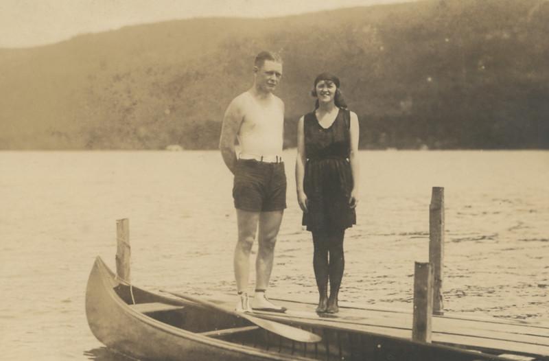 (perhaps Lake george honeymoon)