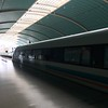 The Maglev - From airport to Shanghai City at 300km/hr