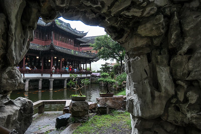 2018 Shanghai Old Town and Yu Gardens
