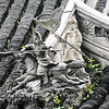 Roof detail at Yu Garden