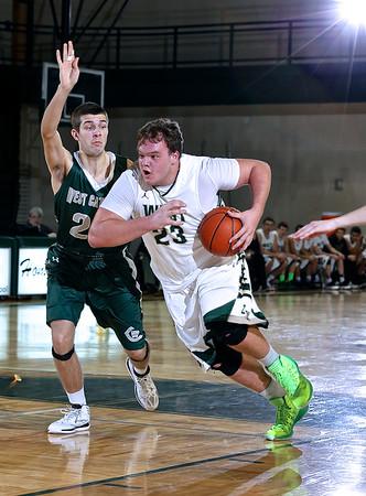 Zeeland West vs West Catholic Boys Basketball
