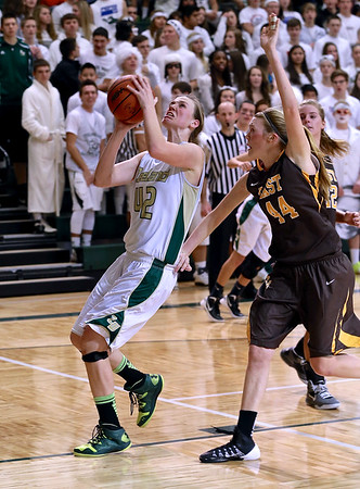 Zeeland West vs. East Girls Basketball
