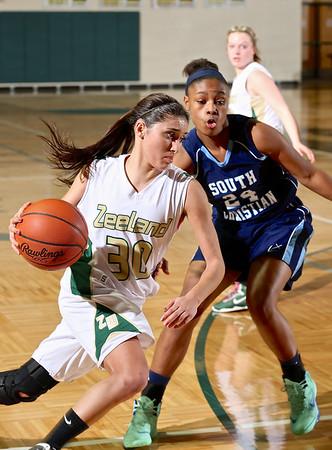 Zeeland West vs South Christian Girls Basketball