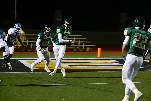 Interception by #21 Grant Postma of Zeeland West