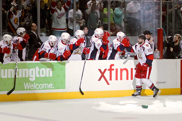 Hogan Scores Griffins 4th Goal