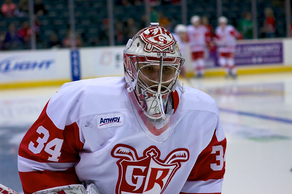 #34 Peter Mrazek - Goalie, Grand Rapids Griffins