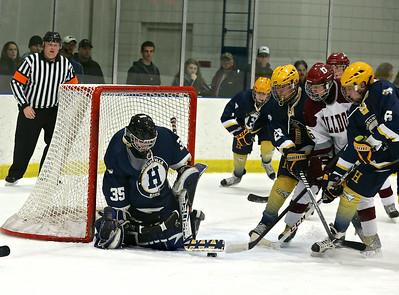 Grandville vs Hudsonville Hockey