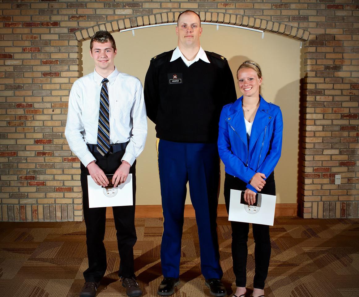 2013 Zeeland West U.S. Army Reserve Scholar Athlete Award Winners