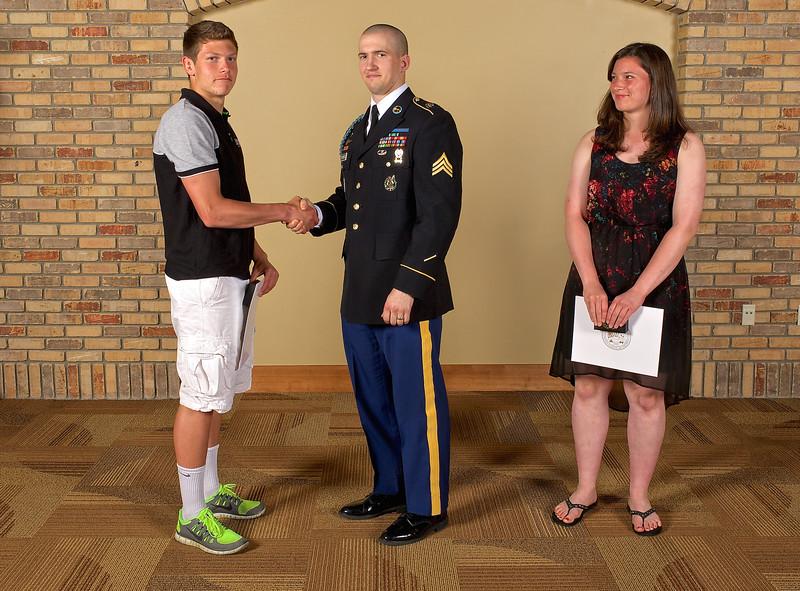 2014 Zeeland West U.S. Army Reserve Scholar Athlete Award Winners