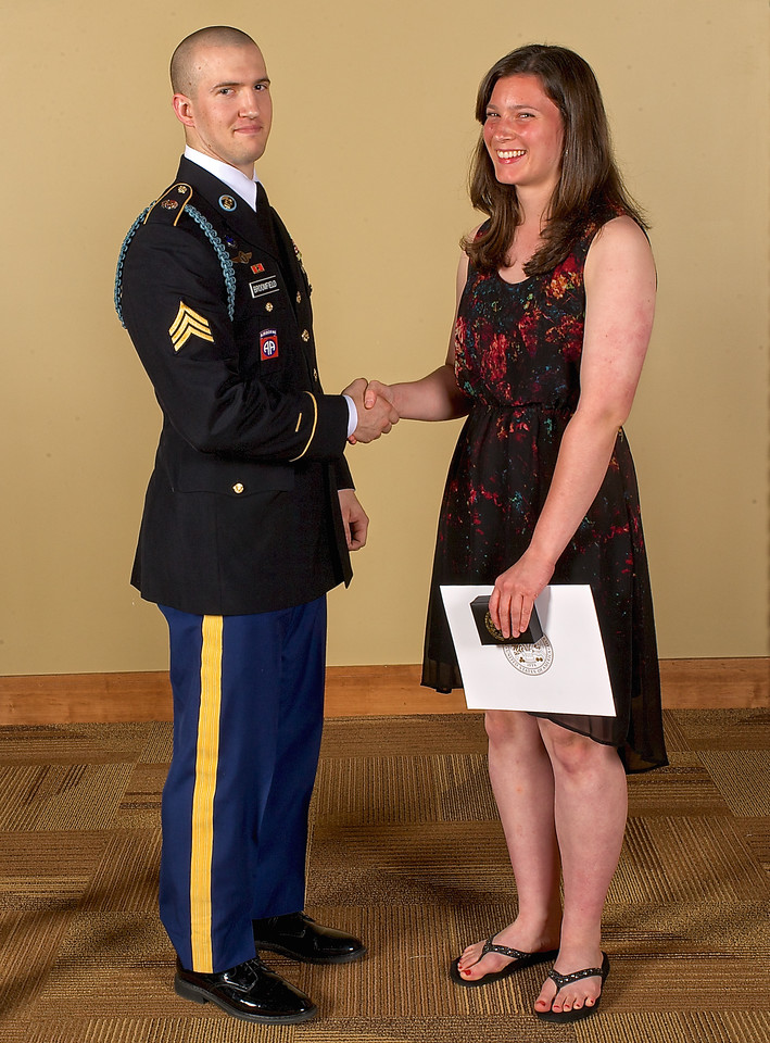 2014 Zeeland West U.S. Army Reserve Scholar Athlete Award Winners