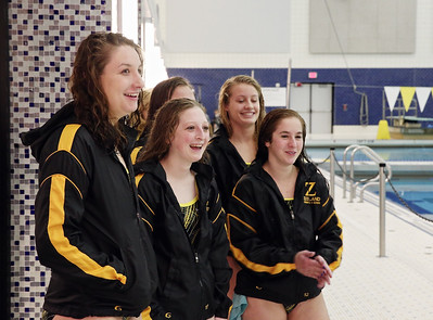 2014 Zeeland Girls Swimming Parents Night