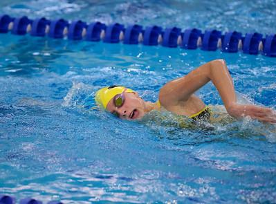 2014 Zeeland Girls Varsity Swimming vs Unity Christian