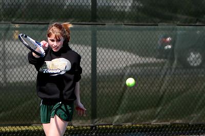 Girls Varsity Tennis Zeeland West vs Hastings