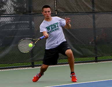 Zeeland West Boys Varsity Tennis vs. Hamilton