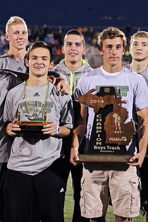 2014 State Championship Presentation at Homecoming
