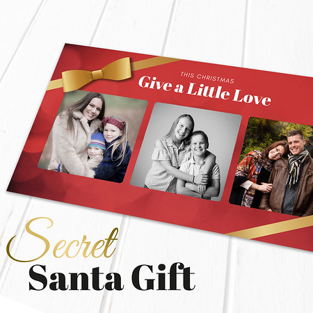 Secret Santa Voucher Ad
