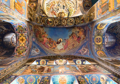 Church On The Spilled Blood, St. Petersburg Russia