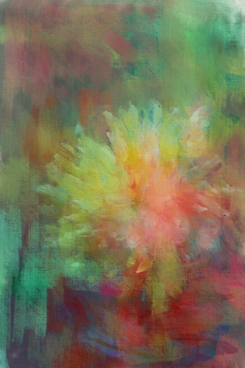 Monet's Dahlia