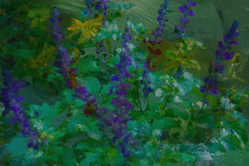 Flowers in Monet's Garden