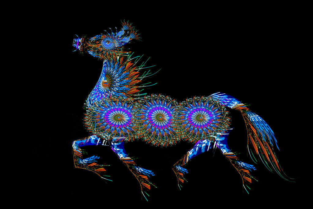 Horse of Lights