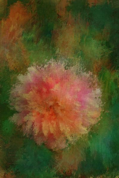 Monet's Pale Pink Dahlia