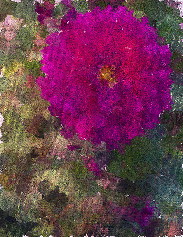 Monet's Lovely Dahlia