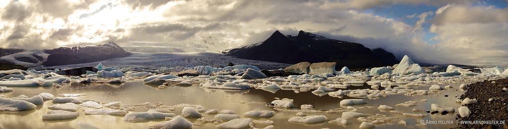 Gletscherlagune Breiðárlón - Island Glacierlagoon  Breiðárlón  - Iceland