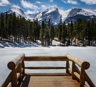Frozen Lake, Estes Park