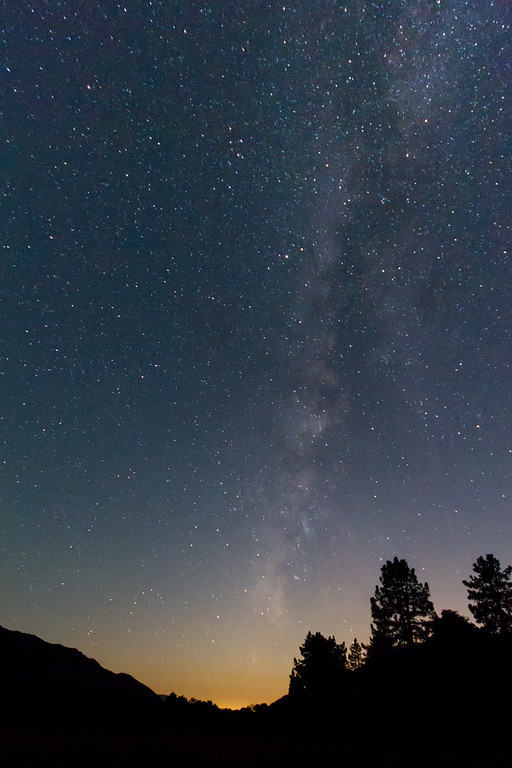 Milky Way from Los Coyotes Indian Reservation