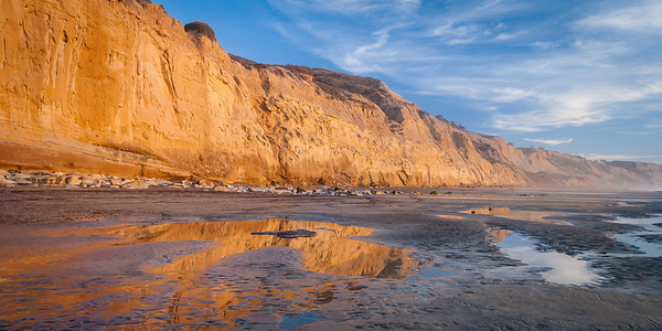 Torrey Pines Sunset at Low Tide 2