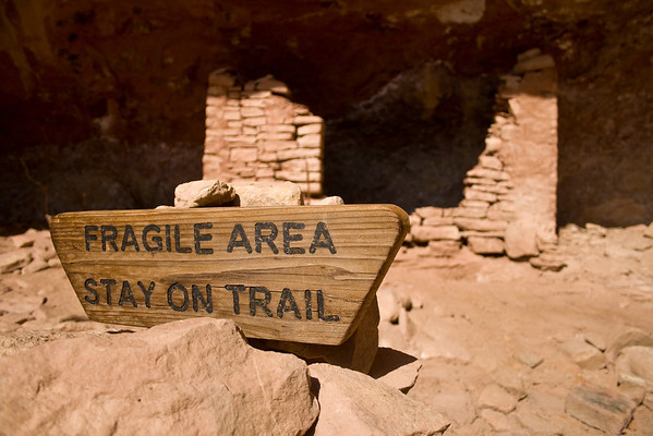 Unnamed Ruin - Stay on Trail