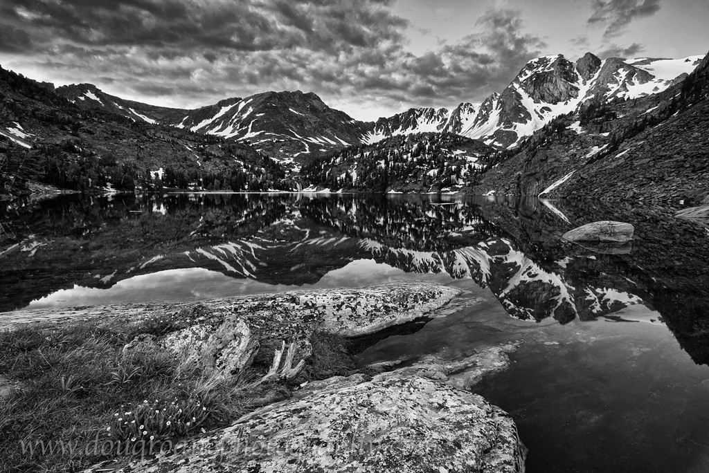 Sunrise on Pine Creek Lake, Absaroka-Beartooth Wilderness
