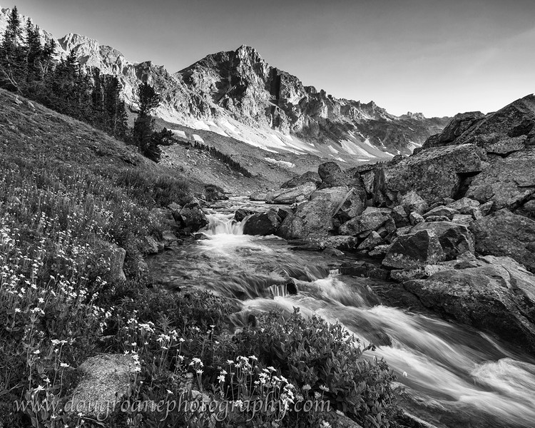 Mountain Creek and Whitetail Peak, Absaroka-Beartooth Wilderness