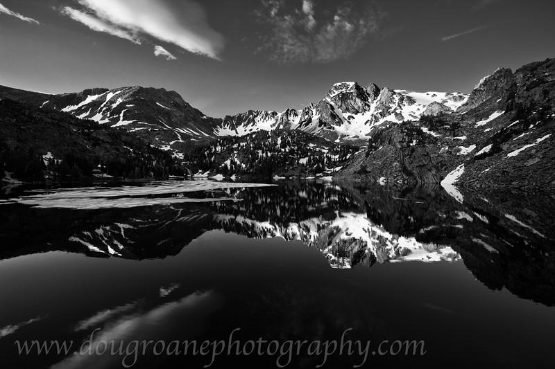 Pine Creek Lake and Black Mountain, Absaroka-Beartooth Wilderness