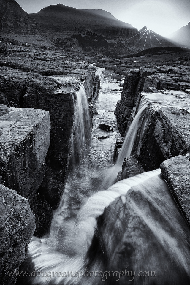 Triple Falls, Glacier National Park