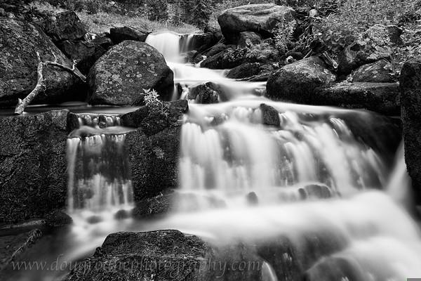 Falls at Lake Columbine, Absaroka-Beartooth Wilderness