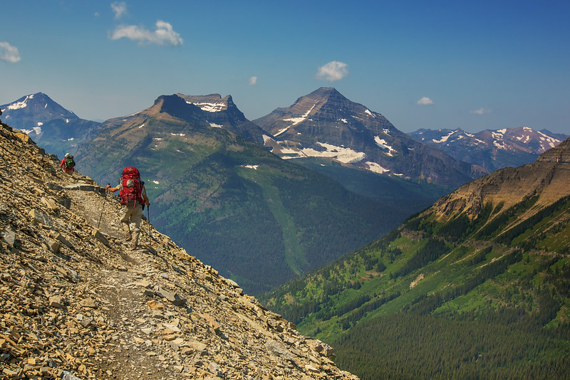 The Traverse  - Dawson Pass Trail