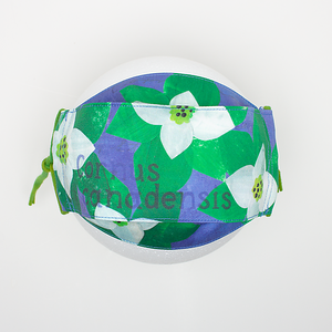 Cornus Canadensis Mask by Becka Rahn