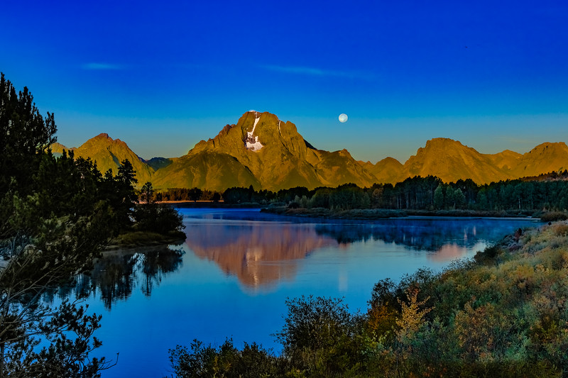 Oxbow Bend -  Grand Teton National Park