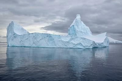 Iceberg, Danco Harbour, Antarctica 14 January 2019